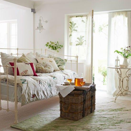 Coastal living room | Summer living room ideas | housetohome.co.uk