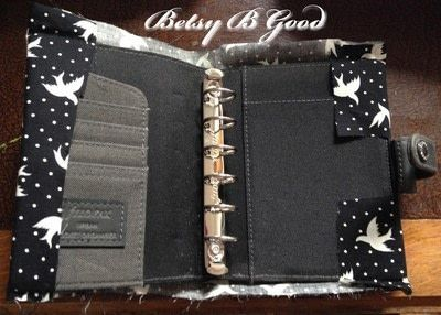 How to make a book cover. Diy Filofax Cover For Pocket Size - Step 2