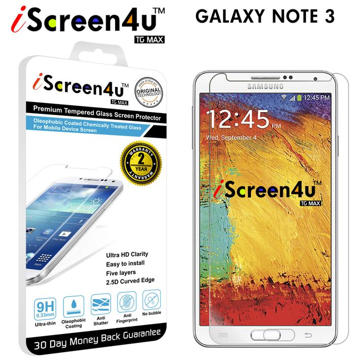 Galaxy Note 3 Ultra-thin Tempered Glass Screen Protector