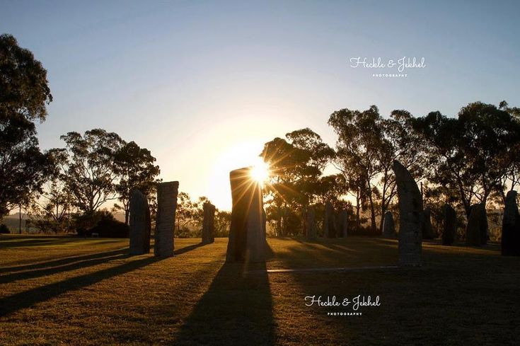 The beautiful Standing Stones bathed in the light of autumn afternoon.  Photo by Heckle & Jekhel Photography