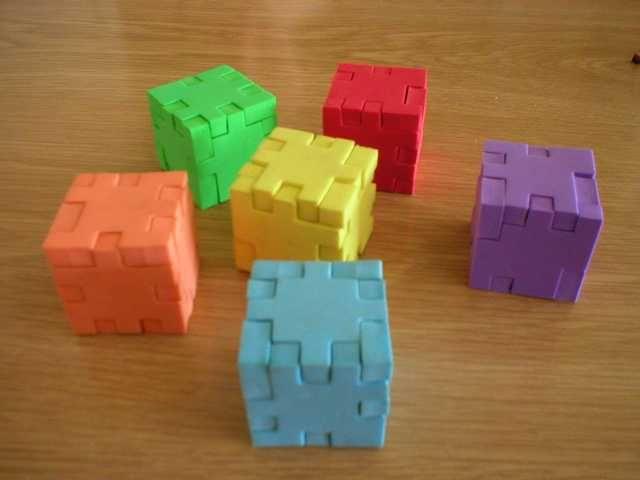 Wirrel Warrel puzzels. De blauwe was het makkelijkst.
