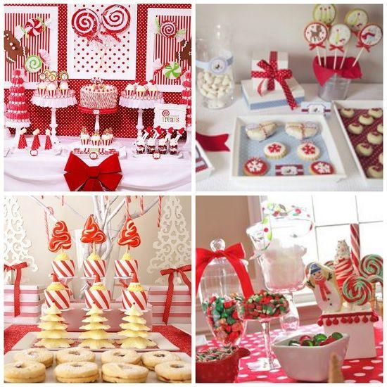 Decoraci n de mesa de navidad navidad decoraci n - Mesas decoradas para navidad ...
