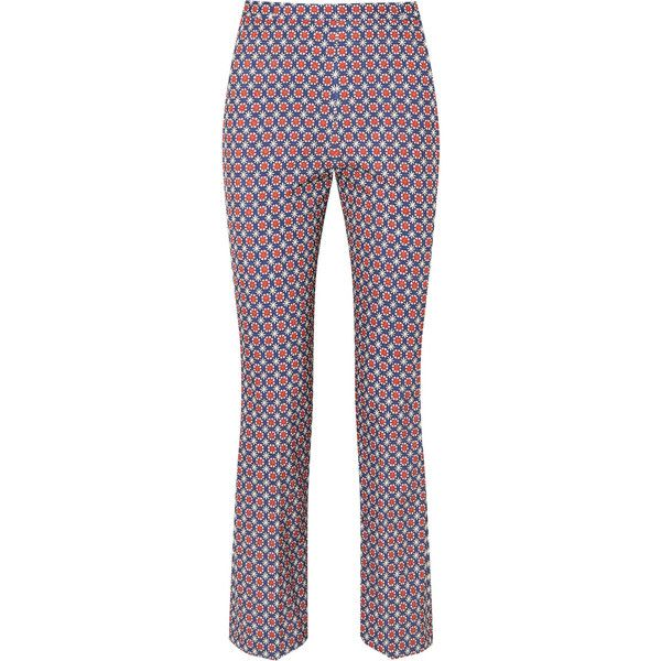 Now $950 - Shop this and similar Prada pants - Miuccia Prada's creative influences are so diverse - these pants are printed with a geometric design reflective o...