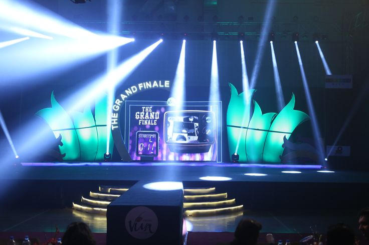 Viva 5 Grand Finale stage powered by Olympia Sportz & Events