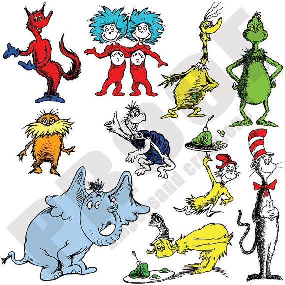Dr. Seuss characters   Dr. Seuss Res Hall   Pinterest ...