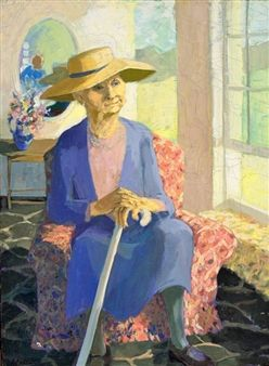 Memory of Tante Sannie By Marjorie Wallace