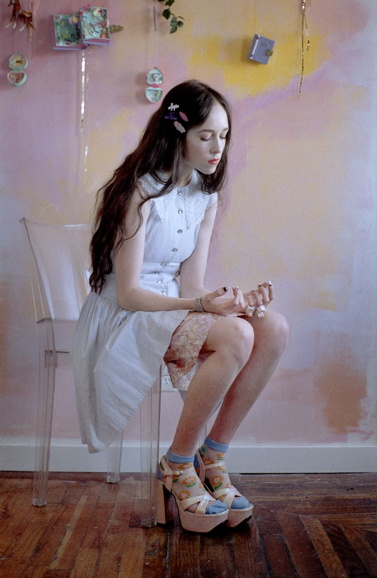 Allie X for Material Girl Magazine. Photo: Natalie Neal ...