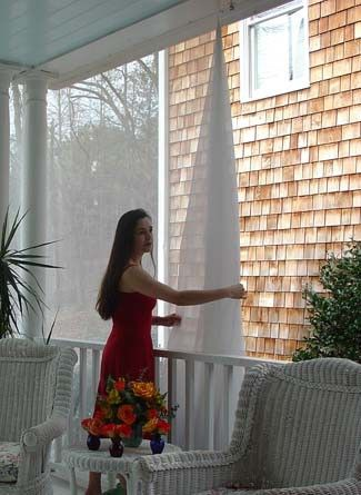In The Light I Love And Screens On Pinterest Outdoor Mosquito Netting  Curtains