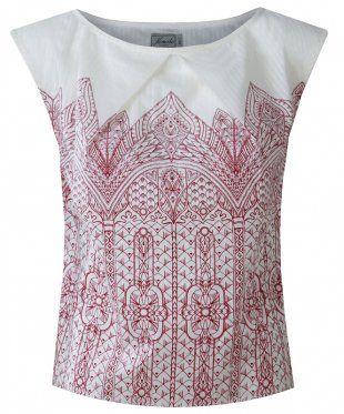 TWIX Deco Print Organic Cotton Top. Kr. 358,-