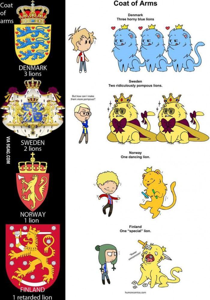 Sucks to be Finland