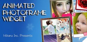 Animated Photo Frame Widget Plus App For Android Description:Animated Photo Frame Widget plus helps to create your own unique photo widget.It is different from the other photo widgets that offers up to 30 picture frames with 7 transition modes also during slideshow process.It enhances the diversity of the desktop of android device that make your album selecting more conveniently and fast by its' photo selector.You can fix some widgets on the desktop and Each of them works independently.