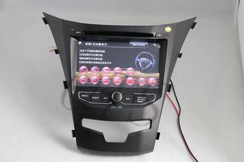 Car DVD 2014 Ssangyong Korando/Actyon car DVD with GPS tracker,TV