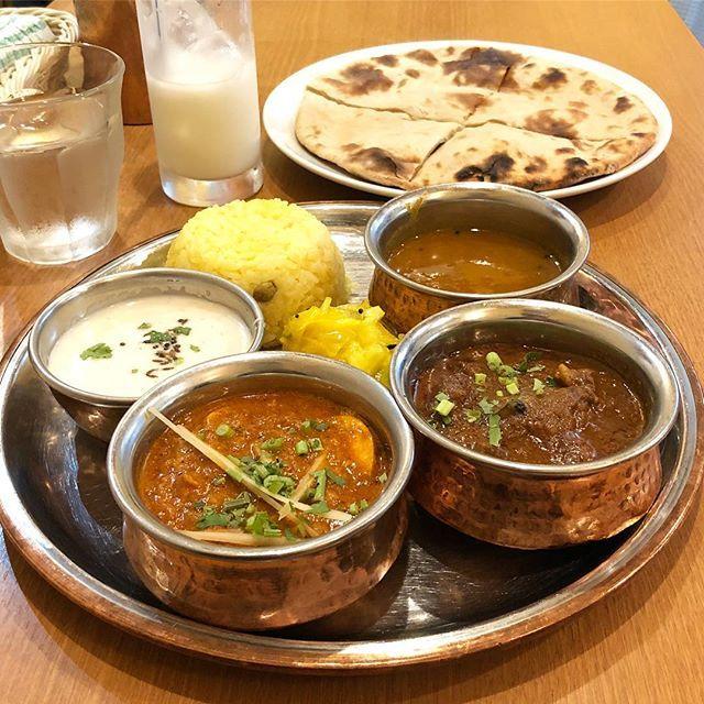 マサハーリーターリー(キーママトンロティ) #やっぱりインディア #カレー #curry #大塚