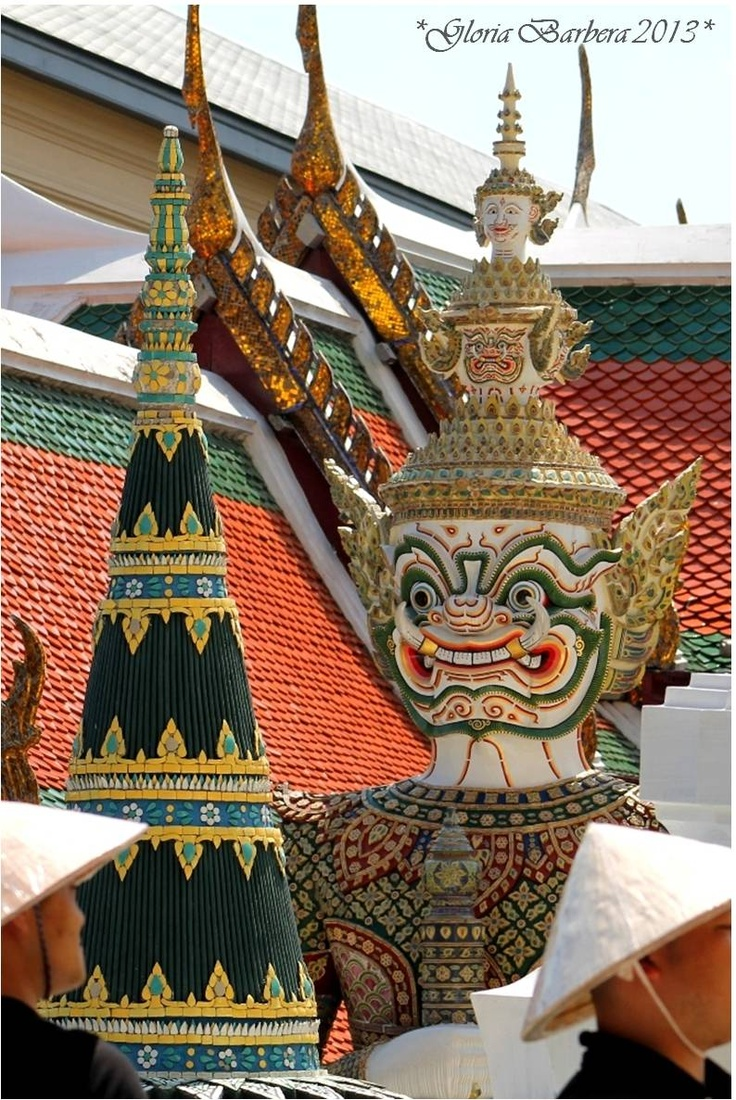 guardian daemon, real palace Bangkok