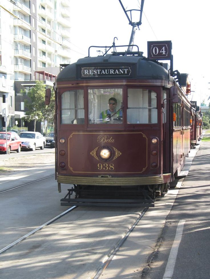 Tram  Dining Car in Adelaide