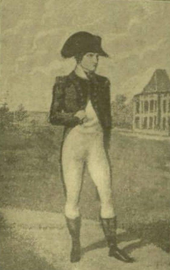 """I. Napóleon. - I. Napóleon mai öltözetben. : A """"Ruha teszi az embert"""" czímű közleményhez. / festő Jean-Baptiste Isabey"""