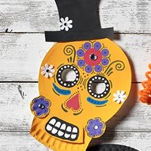 Breathtaking Paper Plate Halloween Masks Ideas Gallery - Best Image .  sc 1 st  xnuvo.com & Interesting Paper Plate Halloween Masks Photos - Best Image Engine ...