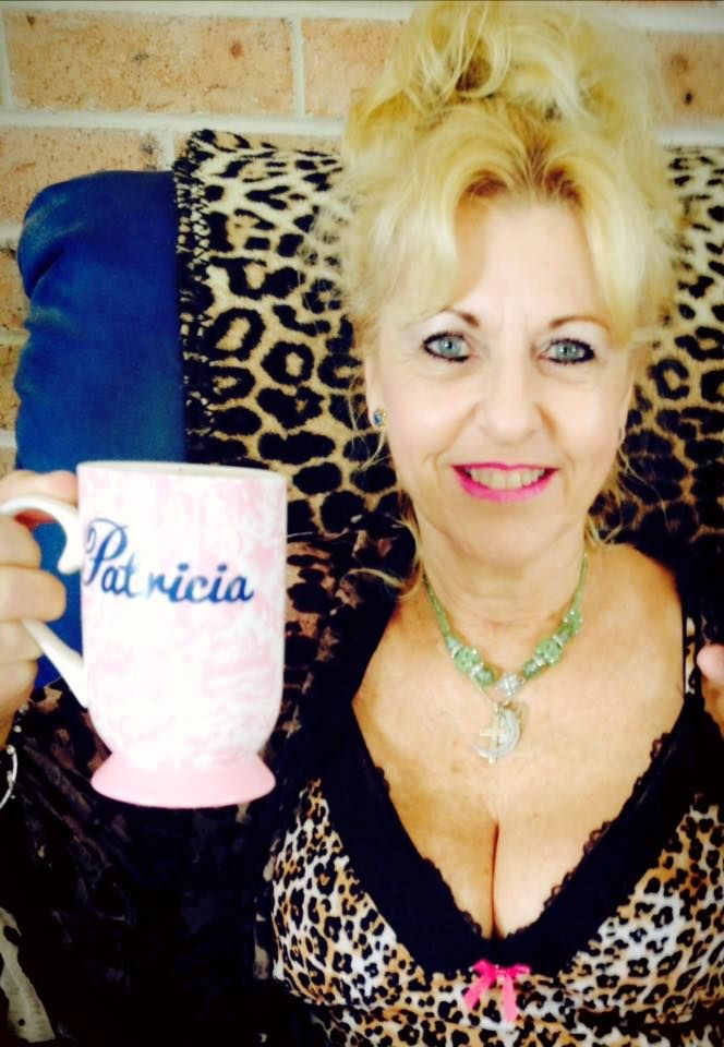Stop sitting around drinking coffee, Patricia Puddle! That's a No, no! Get on with your writing!