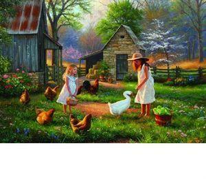 Anatolian 500 Parça Puzzle - Çiftlikte Akşamüstü