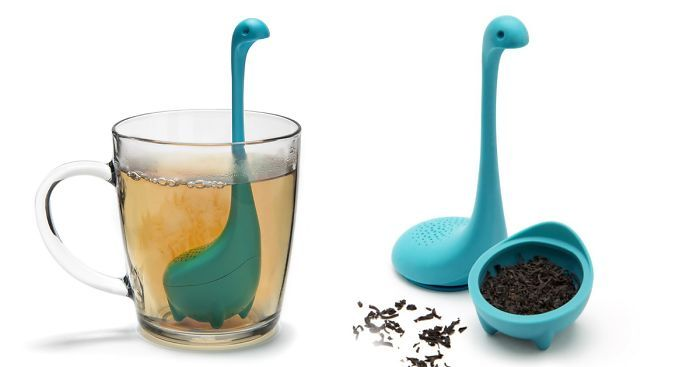 Bats aren't bugs, and the Loch Ness Monster is real, are the two big revelations of 2016. Made by former cryptozoologists at OTOTO Design, these Baby Nessie Tea Infusers will change tea-time forever. Prefer to drink coffee? Well, then you'd better head back the way you came, friend.