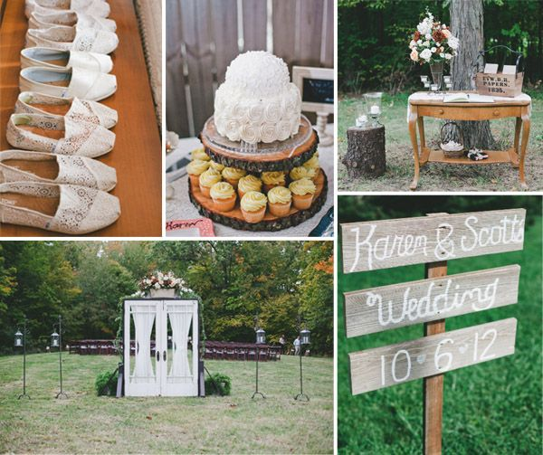 35 Rustic Old Door Wedding Decor Ideas For Outdoor Country: 17 Best Ideas About Country Wedding Colors On Pinterest