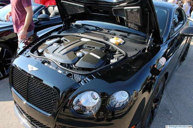 Bentley GT3R. As seen at the October 2015 Cars and Coffee show in Austin TX USA.