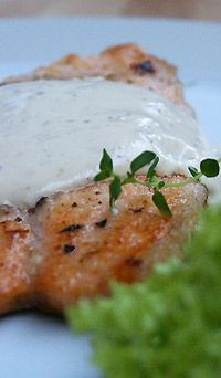 Filety+z+białej+ryby+w+sosie+musztardowym:+Akcent+sosu+musztardowego+doskonale+współgra+z+delikatnością+mięsa+ryby.+Proste...
