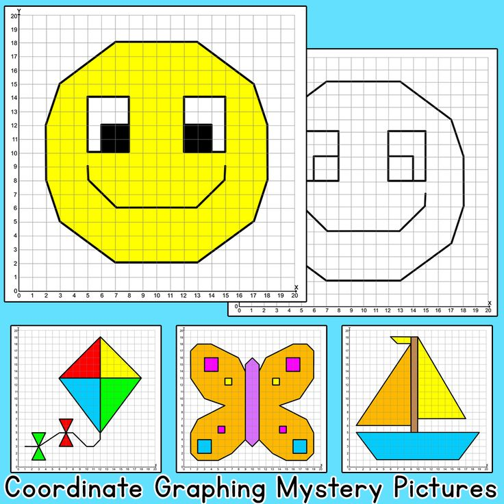 Coordinate Graphing Ordered Pairs Mystery Pictures: Bird ...