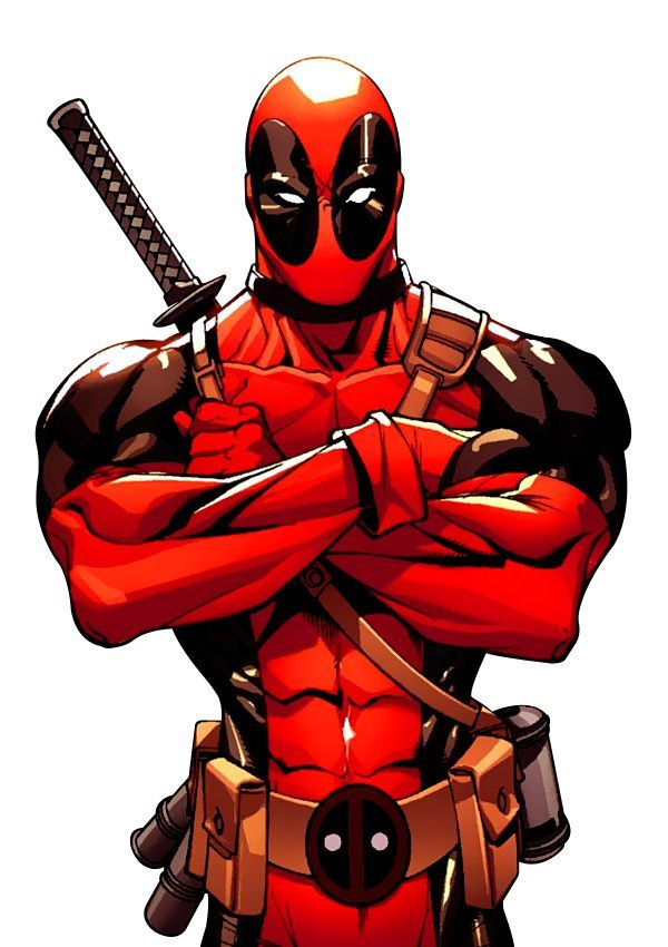 Deadpool's folded arms turned to clenched fists as every sentence resulted in a strike and a comment from Deadpool's voices. Description from comicvine.com. I searched for this on bing.com/images