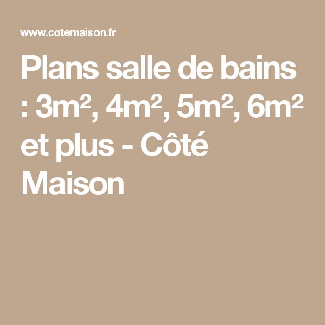 17 best ideas about salle de bain 4m2 on pinterest for Plan salle de bain 4m2