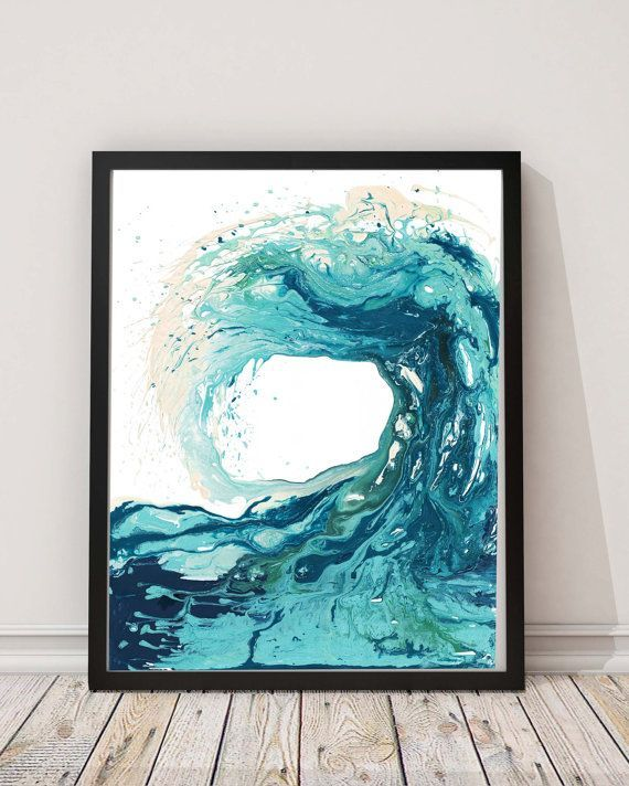 Sandbanks Wave I print - This is one of my favourite prints and also my…