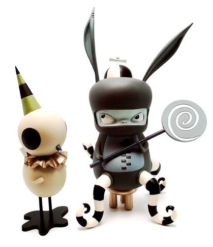 Kathie Olivas Art toys ♥ lovesgraphic art toys collection!