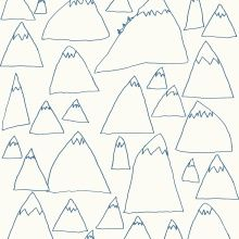 Wallpaper - Mountains, tell your kids to draw a same stuff with different size