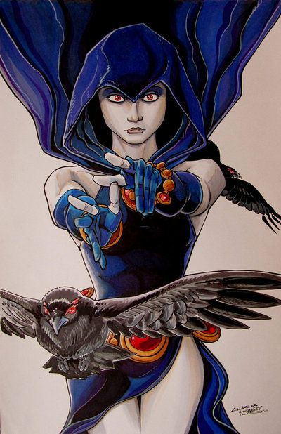 Raven by Charles Holbert Jr. | Traditional Art