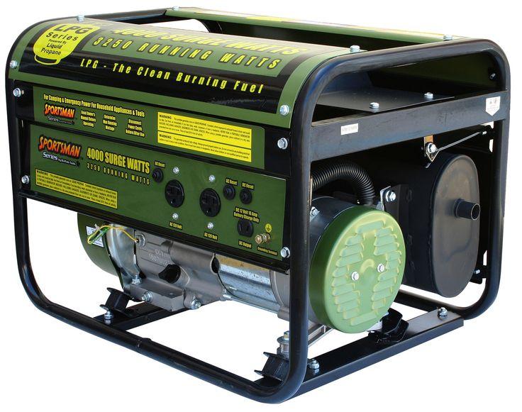 4000 Watt Portable Liquid Propane Generator
