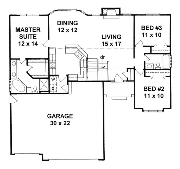 Groovy 17 Images About Home House Plans Favorites On Pinterest 3 Car Largest Home Design Picture Inspirations Pitcheantrous