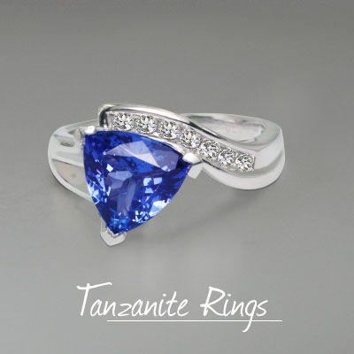 Get this gorgeous tanzaniteRing online from toptanzanite.com