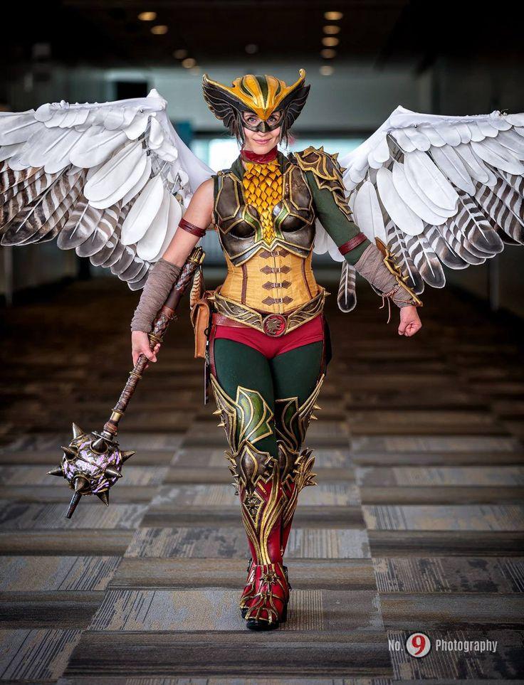 Hawkgirl Cosplay by spring-steel on DeviantArt