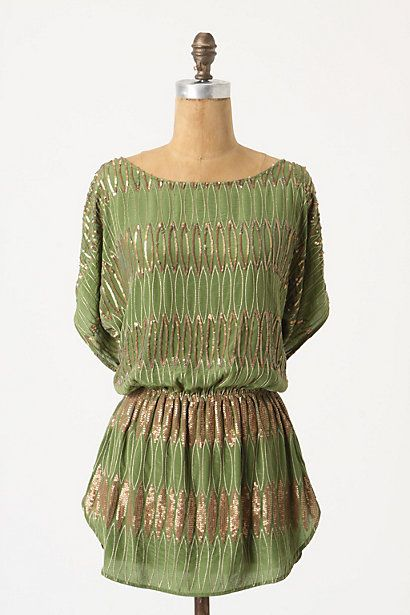 sooo sparkly!: Blouses, Skirts Style, Glimmer Tunics, Clothing, Shirts, Green, Colors, Picholin Glimmer, Dreams Wardrobes
