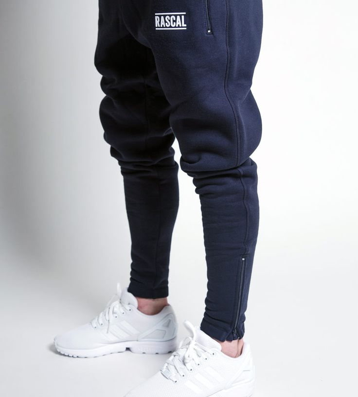 Adult Slim Fit Joggers Navy Blue – Rascal Clothing by The F2 Freestylers