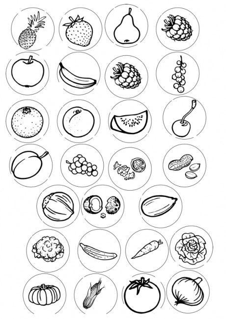 plaatjes van eten - memorie?