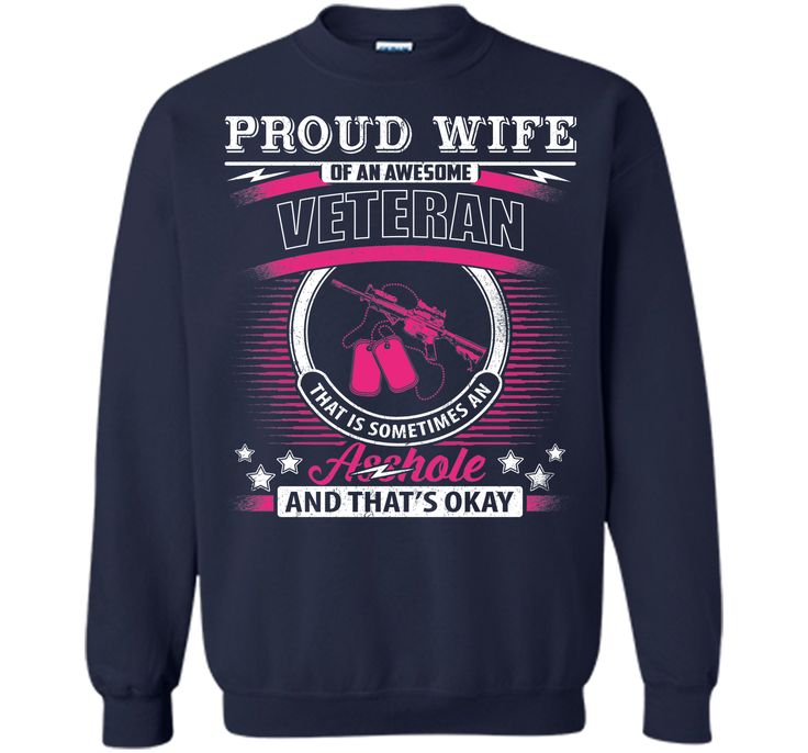 Proud Wife Of An Awesome Veteran T-Shirt