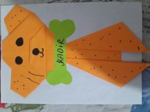 Dog craft idea for kids   Crafts and Worksheets for Preschool,Toddler and Kindergarten