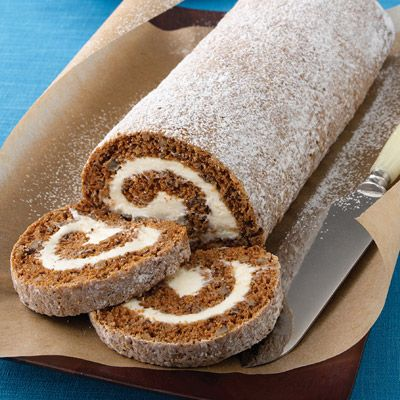 Pumpkin Roll Recipe from Land O'Lakes