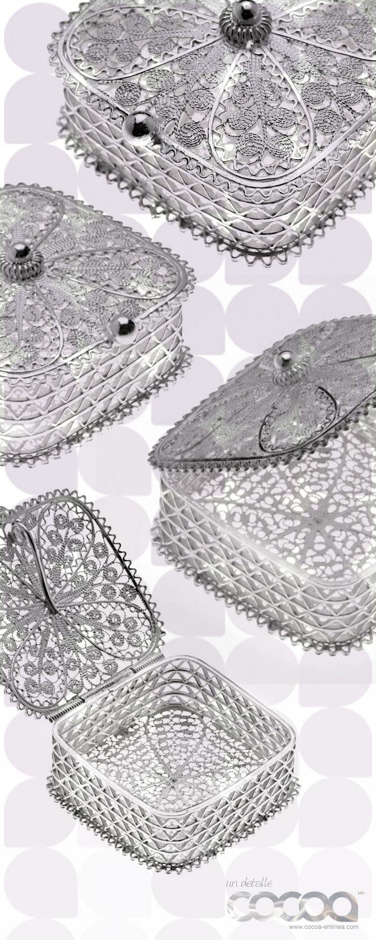 Alhajero en filigrana de plata .925, de venta en línea a través Linio... Somos #TendenciaenPlata