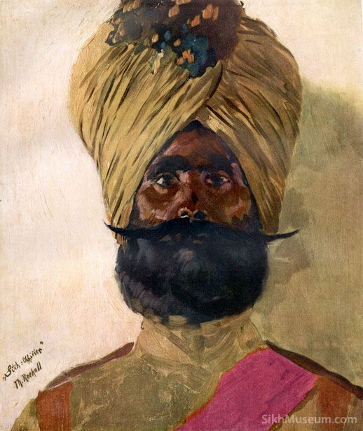 Sikhs Soldiers WWI Art Paintings Drawings World War  | Sikhpoint.com    #sikhpoint