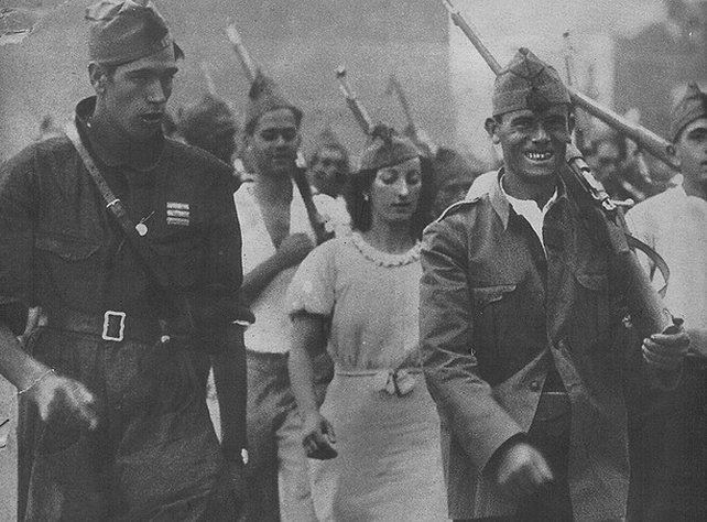 GC Milicianas-Milicianos I   II República Española