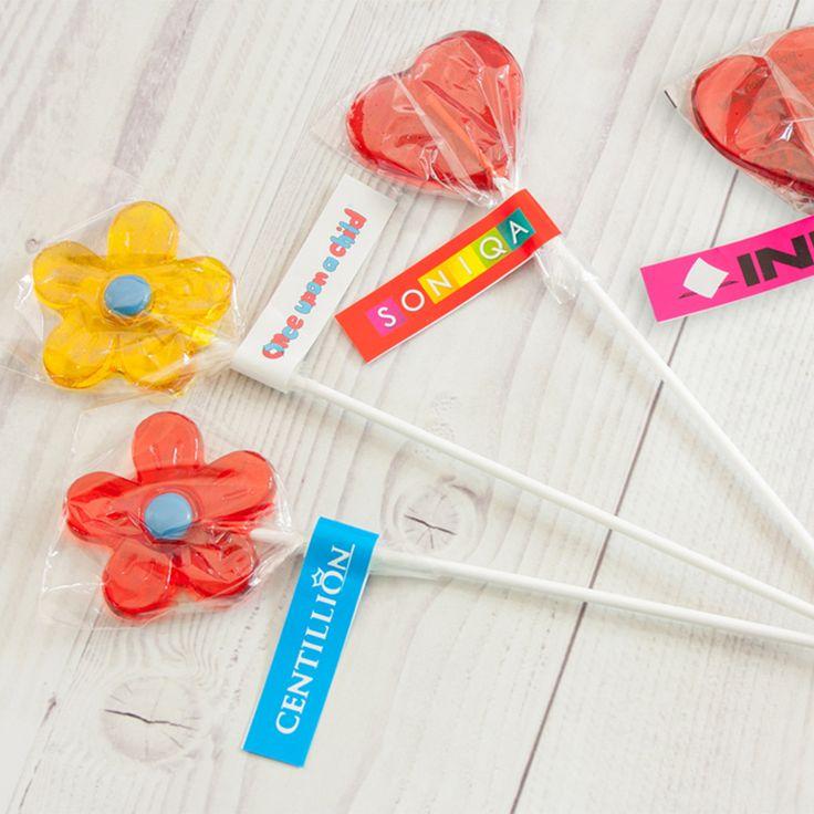 Lecca lecca alla frutta personalizzato con il tuo logo #gadget #dolci #lollypop