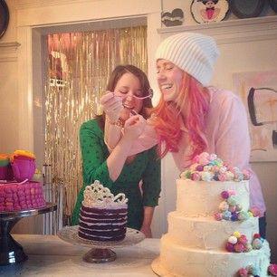 party cake fun with @Tiffany Pratt
