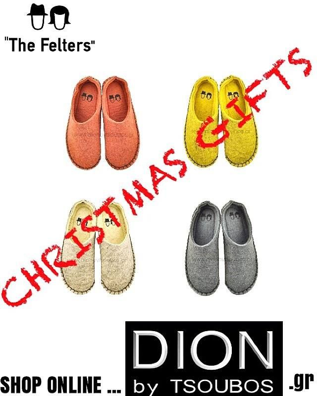 The Felters slippers